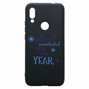 Xiaomi Redmi 7 Case The most wonderful time of the year