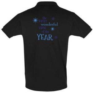 Men's Polo shirt The most wonderful time of the year