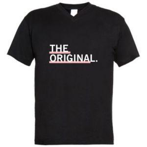 Męska koszulka V-neck The original.