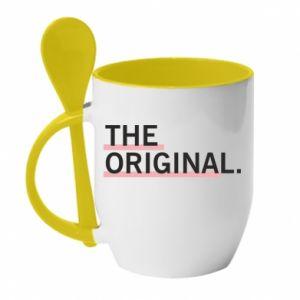 Kubek z ceramiczną łyżeczką The original.
