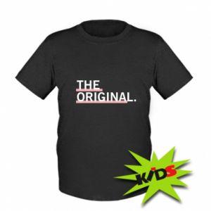 Dziecięcy T-shirt The original.