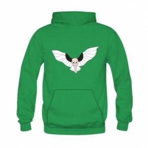 Bluza z kapturem dziecięca The owl flies on you