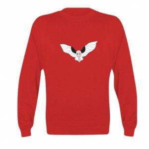 Bluza dziecięca The owl flies on you