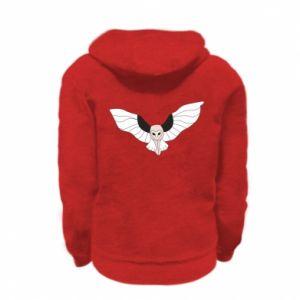 Bluza na zamek dziecięca The owl flies on you