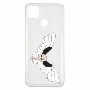 Etui na Xiaomi Redmi 9c The owl flies on you