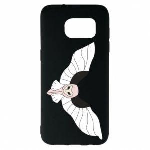 Etui na Samsung S7 EDGE The owl flies on you