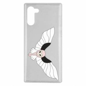 Etui na Samsung Note 10 The owl flies on you