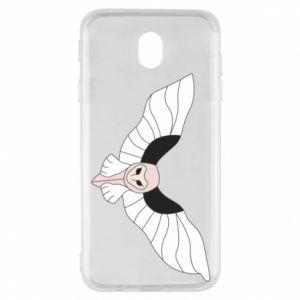 Etui na Samsung J7 2017 The owl flies on you