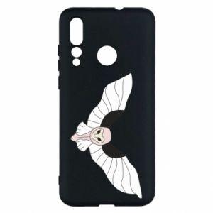 Etui na Huawei Nova 4 The owl flies on you