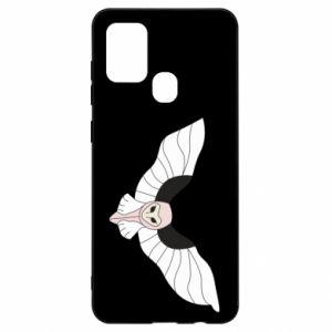 Etui na Samsung A21s The owl flies on you