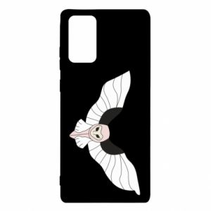 Etui na Samsung Note 20 The owl flies on you