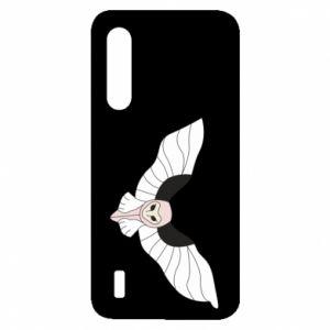 Etui na Xiaomi Mi9 Lite The owl flies on you