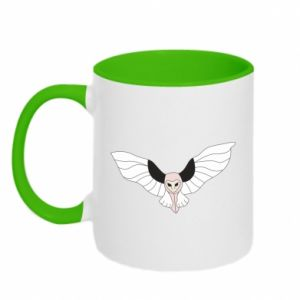 Two-toned mug The owl flies on you