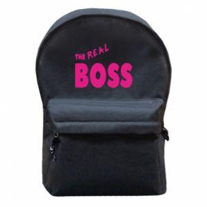 Plecak z przednią kieszenią The real boss - PrintSalon