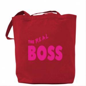 Torba The real boss - PrintSalon