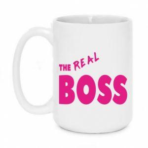 Kubek 450ml The real boss - PrintSalon