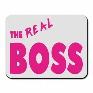 Podkładka pod mysz The real boss - PrintSalon