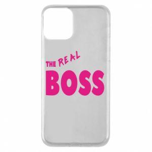 Etui na iPhone 11 The real boss - PrintSalon