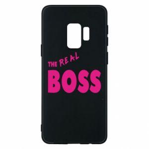 Etui na Samsung S9 The real boss - PrintSalon