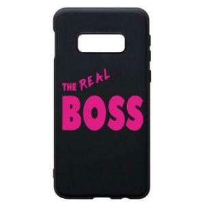Etui na Samsung S10e The real boss - PrintSalon