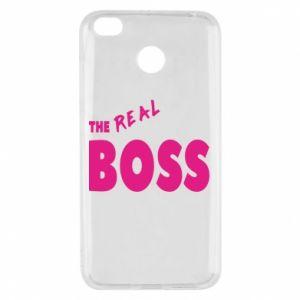 Xiaomi Redmi 4X Case The real boss