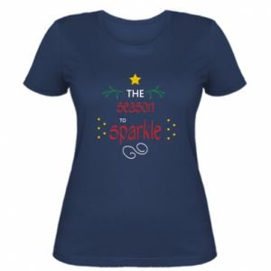 Women's t-shirt The season to sparkle