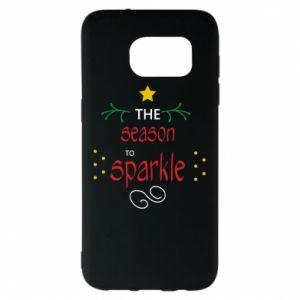 Etui na Samsung S7 EDGE The season to sparkle