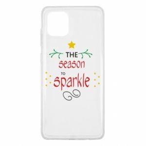 Etui na Samsung Note 10 Lite The season to sparkle