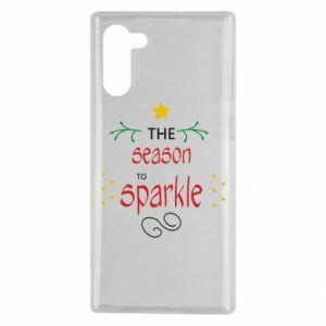 Etui na Samsung Note 10 The season to sparkle