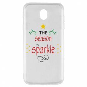 Etui na Samsung J7 2017 The season to sparkle