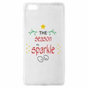 Etui na Huawei P 8 Lite The season to sparkle
