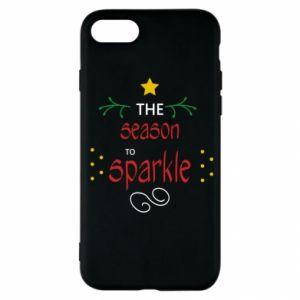 Etui na iPhone SE 2020 The season to sparkle