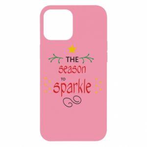 Etui na iPhone 12 Pro Max The season to sparkle