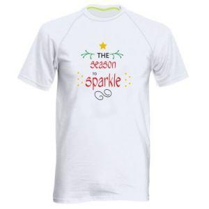 Koszulka sportowa męska The season to sparkle