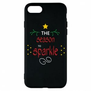 Etui na iPhone 7 The season to sparkle