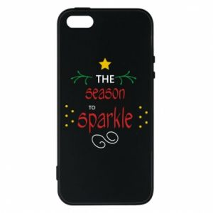 Etui na iPhone 5/5S/SE The season to sparkle