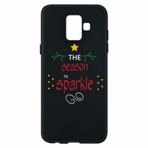 Etui na Samsung A6 2018 The season to sparkle