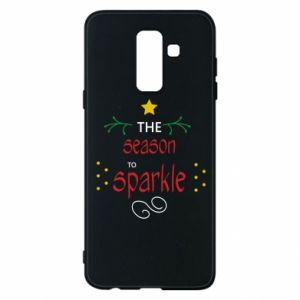 Etui na Samsung A6+ 2018 The season to sparkle