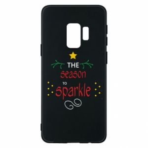 Etui na Samsung S9 The season to sparkle