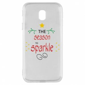 Etui na Samsung J3 2017 The season to sparkle