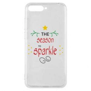 Etui na Huawei Y6 2018 The season to sparkle
