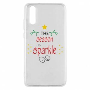 Etui na Huawei P20 The season to sparkle