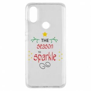 Etui na Xiaomi Mi A2 The season to sparkle