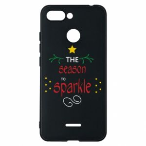 Etui na Xiaomi Redmi 6 The season to sparkle