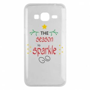 Etui na Samsung J3 2016 The season to sparkle