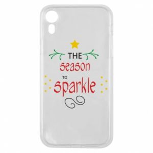 Etui na iPhone XR The season to sparkle