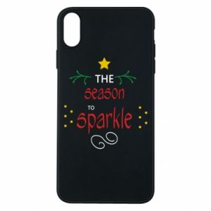 Etui na iPhone Xs Max The season to sparkle
