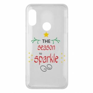 Etui na Mi A2 Lite The season to sparkle