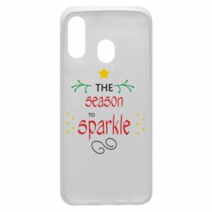 Etui na Samsung A40 The season to sparkle