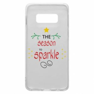 Etui na Samsung S10e The season to sparkle
